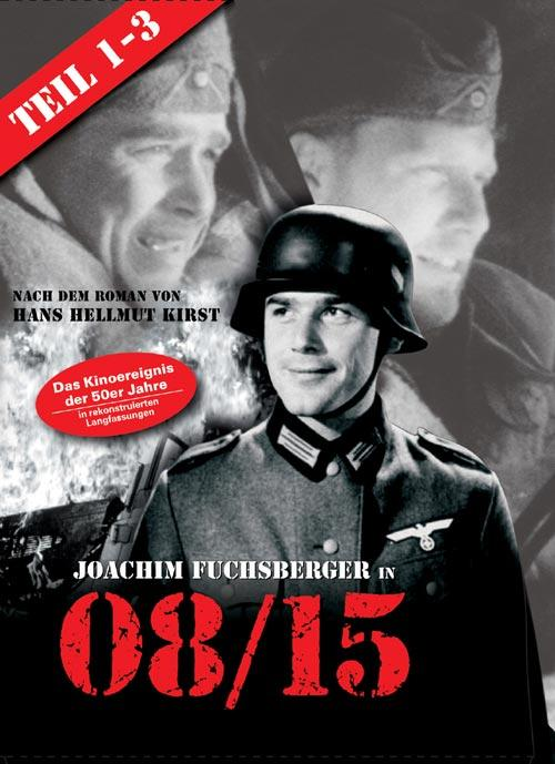 DVD Cover: 08/15 - Teil 1-3