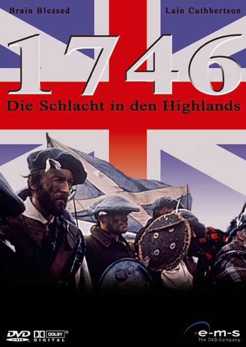DVD Cover: 1746 - Die Schlacht in den Highlands