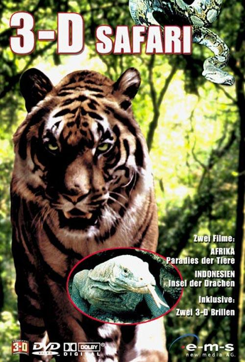 DVD Cover: 3-D Safari