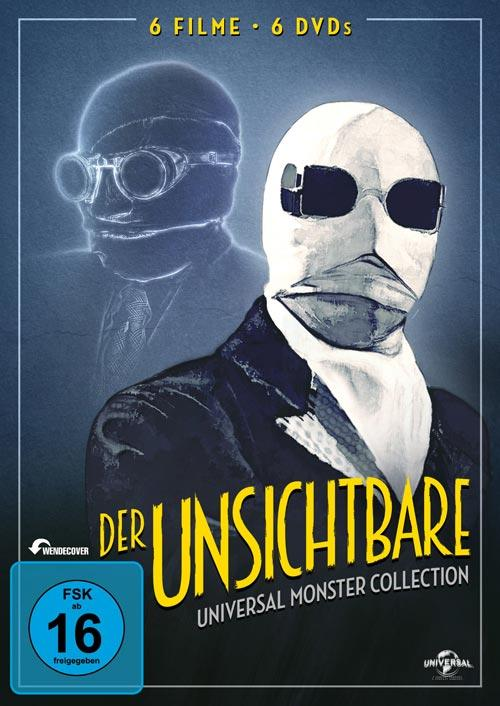 DVD Cover: Der Unsichtbare - Universal Monster Collection