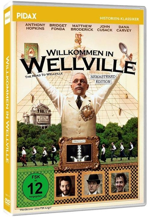 DVD Cover: Willkommen in Wellville - Remastered Edition