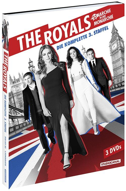 DVD Cover: The Royals - Staffel 3
