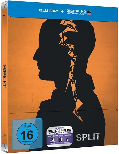 DVD Cover: Split - Steelbook