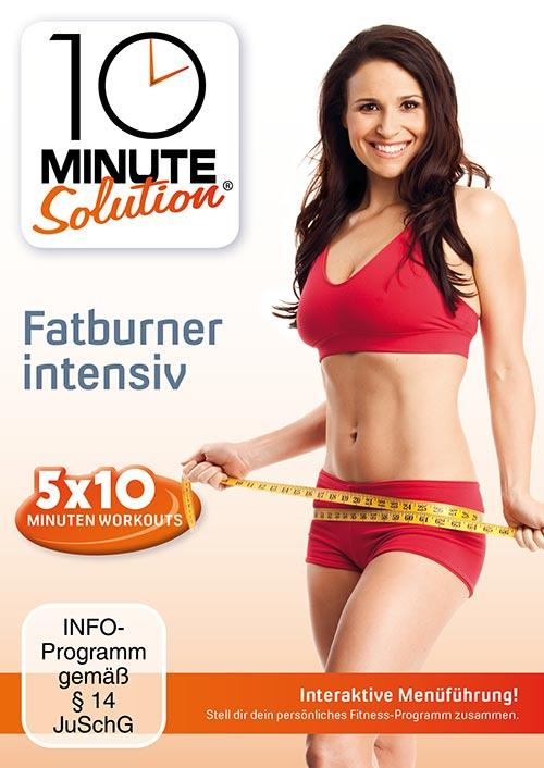 DVD Cover: 10 Minute Solution - Fatburner intensiv