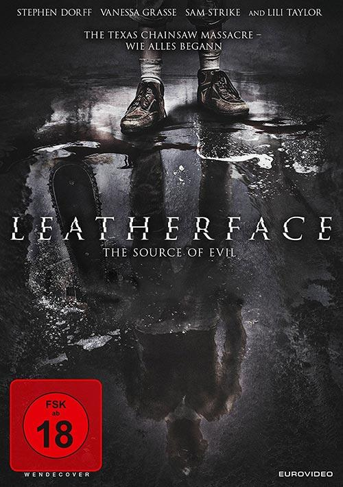 DVD Cover: Leatherface - The source of evil