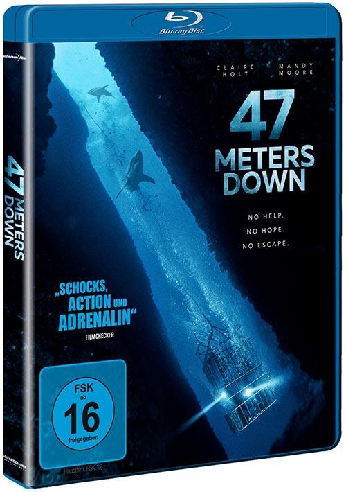 DVD Cover: 47 Meters Down