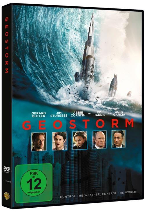 DVD Cover: Geostorm