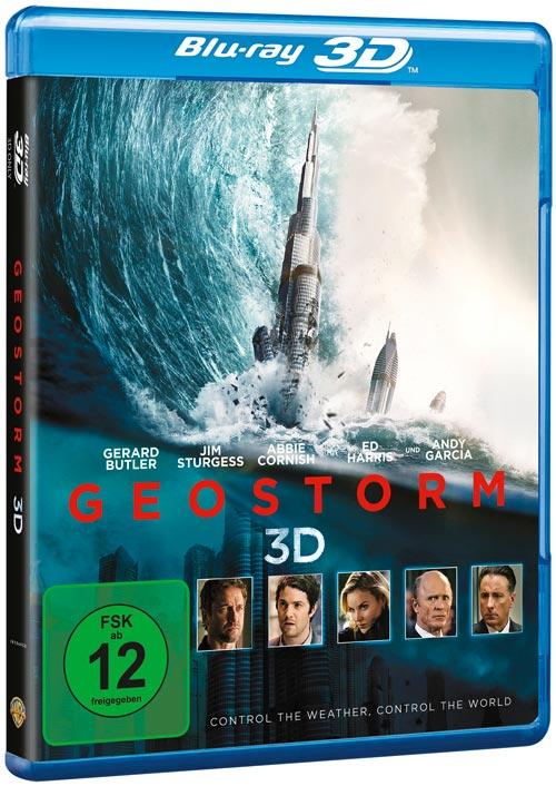 DVD Cover: Geostorm - 3D