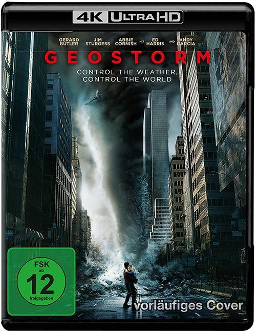 DVD Cover: Geostorm - 4K