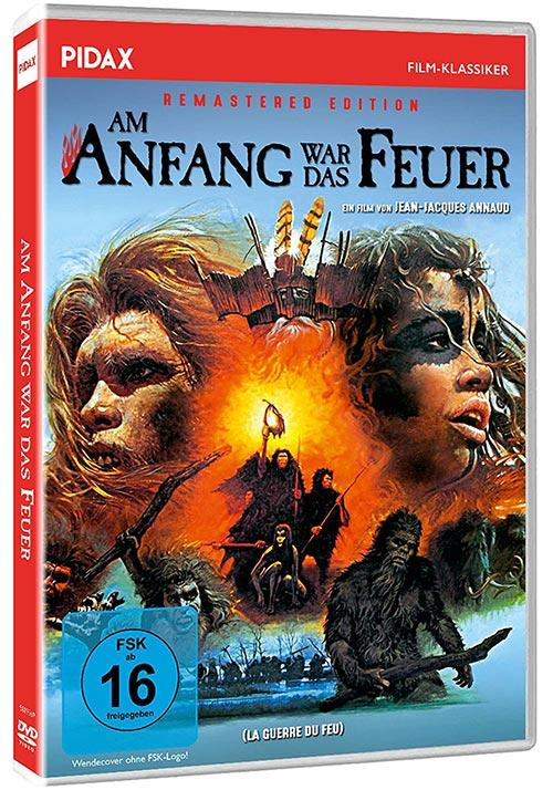DVD Cover: Am Anfang war das Feuer - Remastered Edition