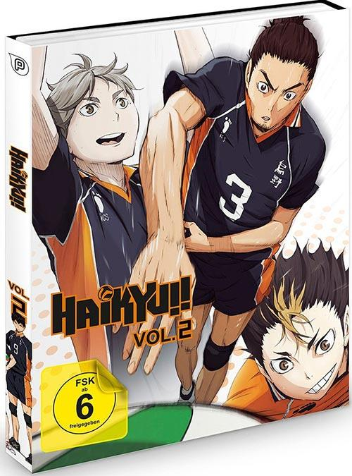 DVD Cover: Haikyu!! - Vol.2