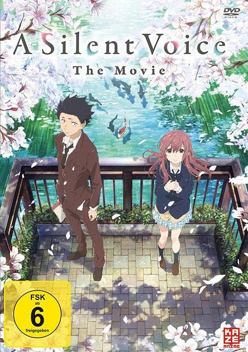 DVD Cover: A Silent Voice