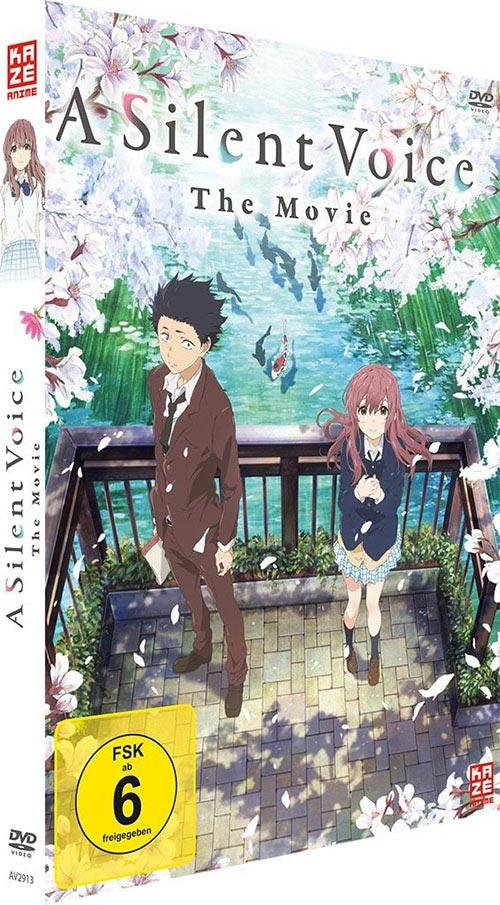 DVD Cover: A Silent Voice - Deluxe Edition
