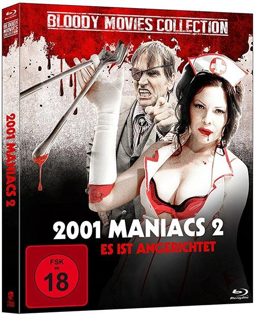 DVD Cover: Bloody-Movies Collection: 2001 Maniacs 2