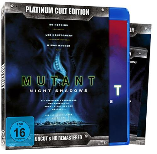 DVD Cover: Mutant - Uncut & HD-Remastered - Platinum Cult Edition