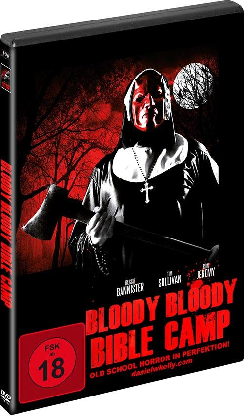 DVD Cover: Bloody Bloody Bible Camp