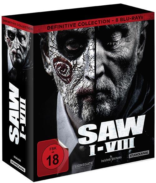 DVD Cover: SAW I-VIII - Definitive Collection