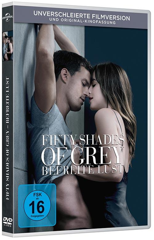 DVD Cover: Fifty Shades of Grey - Befreite Lust