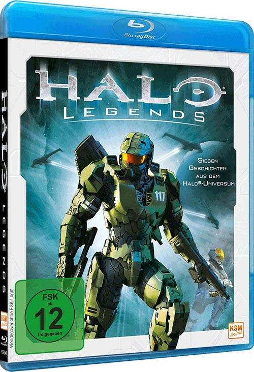 DVD Cover: Halo Legends