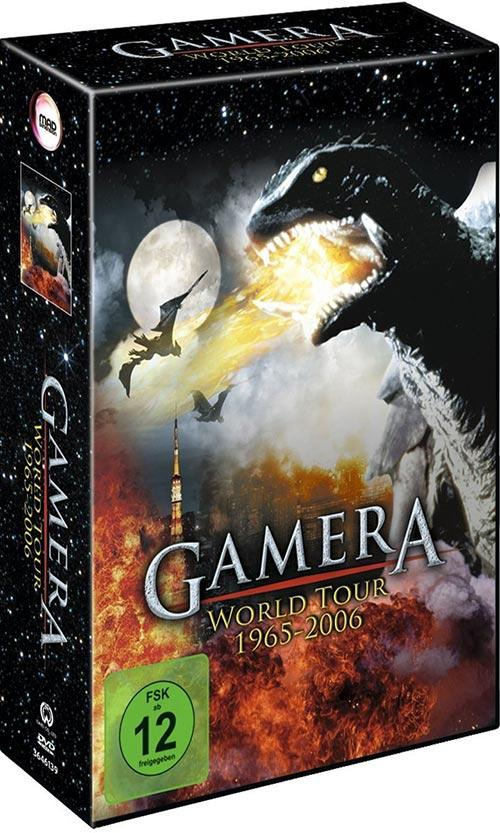 DVD Cover: Gamera World Tour