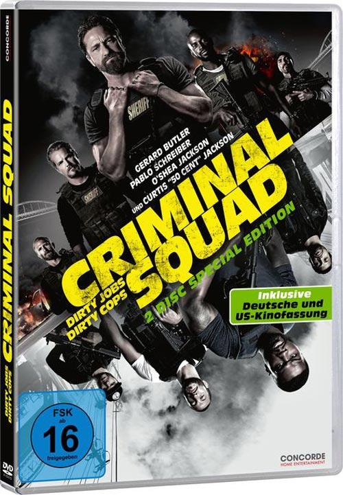 DVD Cover: Criminal Squad - 2 Disc Special Edition