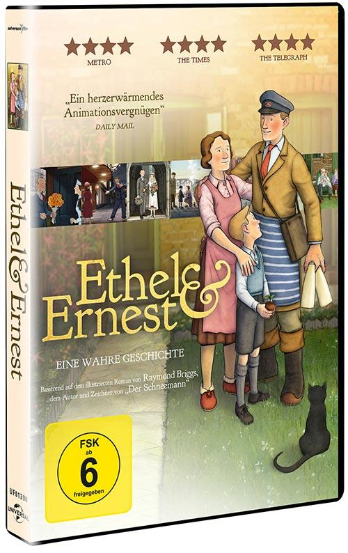 DVD Cover: Ethel & Ernest