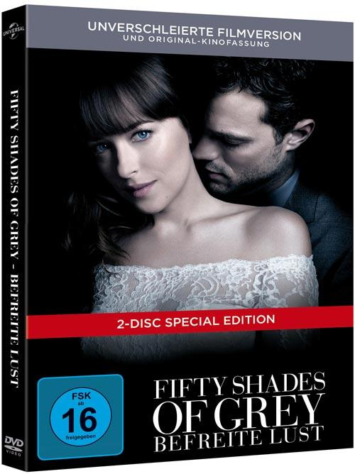 DVD Cover: Fifty Shades of Grey - Befreite Lust - DigiBook