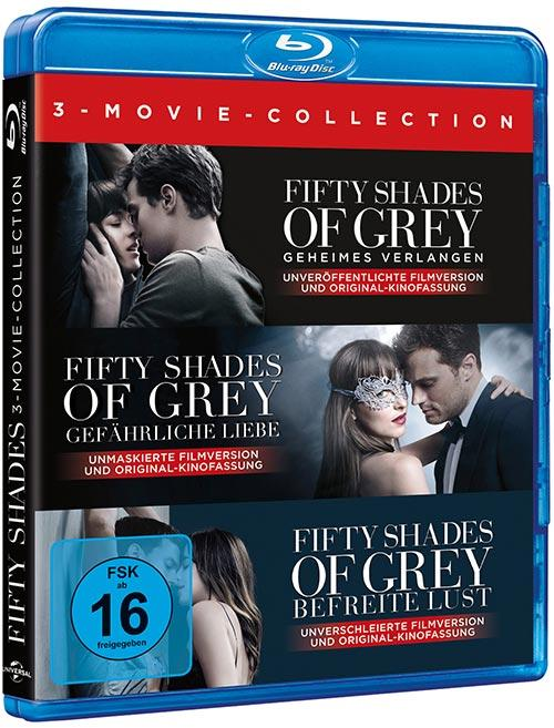 DVD Cover: Fifty Shades of Grey - 3-Movie Collection