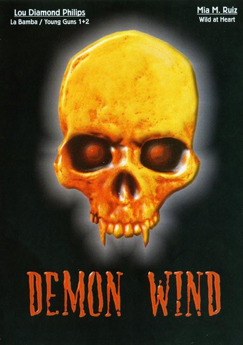 DVD Cover: Demon Wind