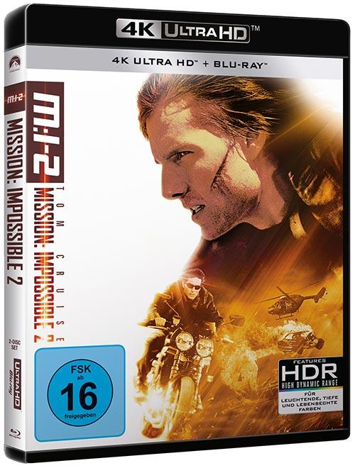 DVD Cover: Mission: Impossible 2 - 4K