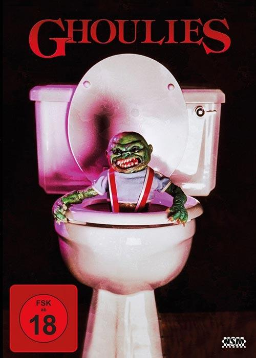 DVD Cover: Ghoulies - uncut