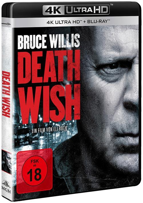DVD Cover: Death Wish - 4K