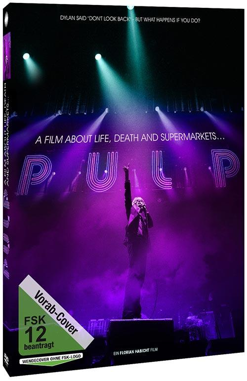 DVD Cover: Pulp - A Film About Life, Death and Supermarkets