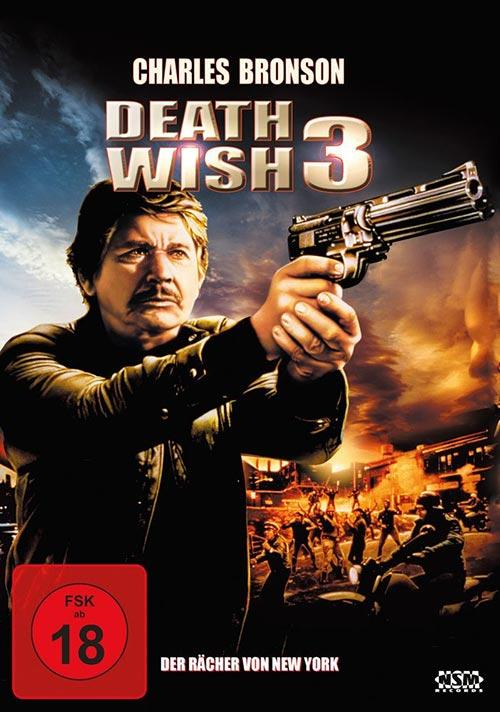 DVD Cover: Death Wish 3 - Der Rächer von New York