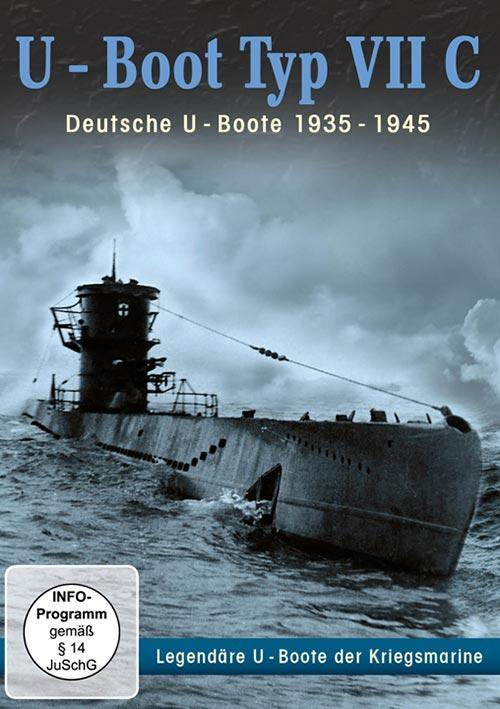 DVD Cover: U-Boot Typ VII C - Deutsche U-Boote 1935 - 1945