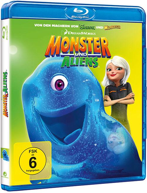 DVD Cover: DreamWorks: Monster und Aliens