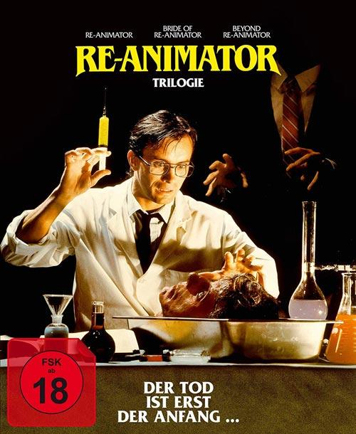 DVD Cover: Re-Animator 1-3
