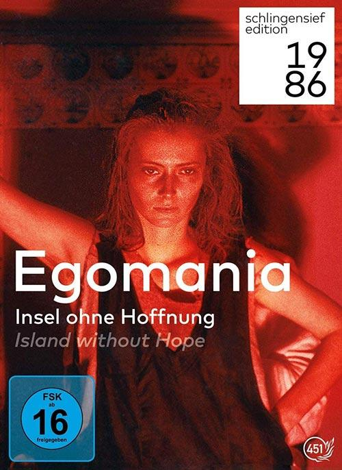 DVD Cover: Egomania - Insel ohne Hoffnung