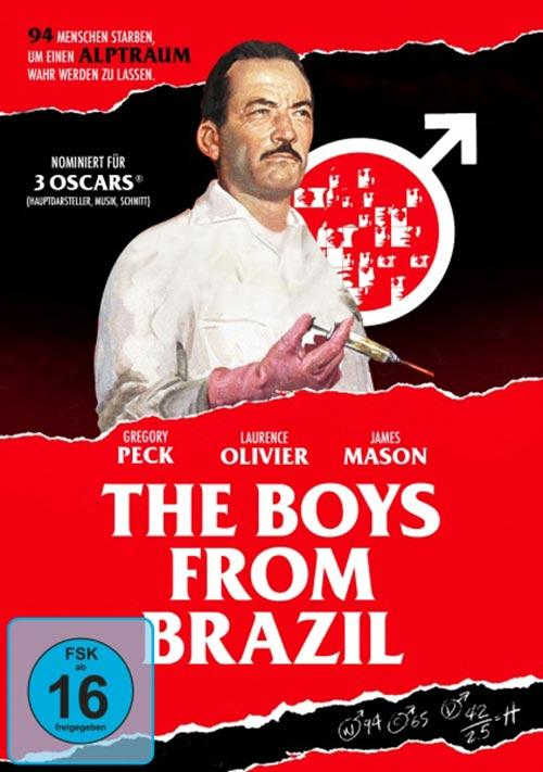 DVD Cover: The Boys from Brazil