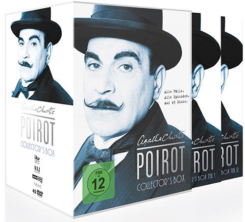 DVD Cover: Agatha Christie: Poirot - Collector's Box