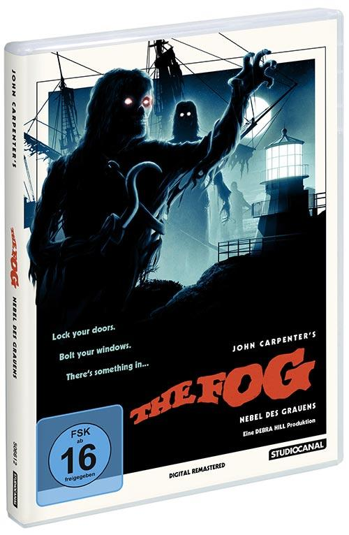 DVD Cover: The Fog - Nebel des Grauens - Digital Remastered