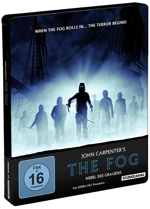 DVD Cover: The Fog - Nebel des Grauens - 4K - Collector's Steelbook Edition