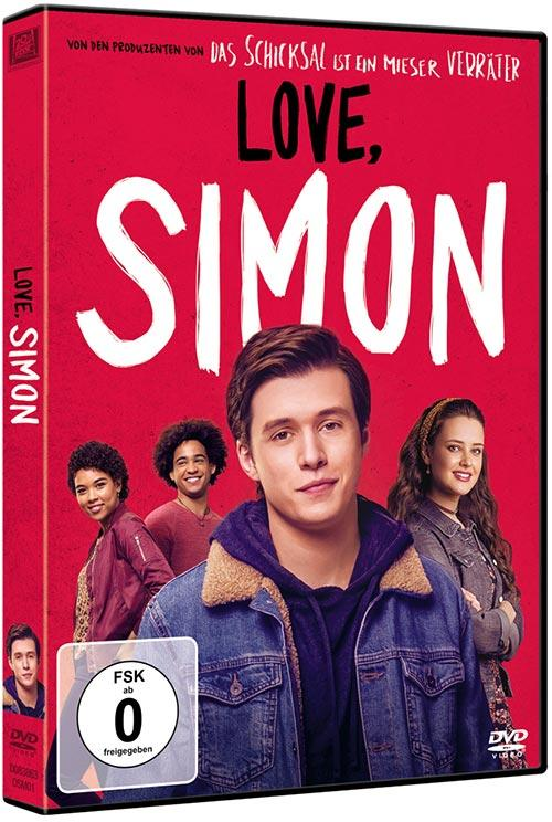 DVD Cover: Love, Simon