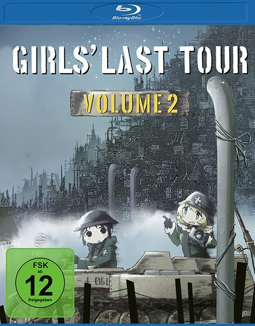 DVD Cover: Girls' Last Tour - Vol. 2