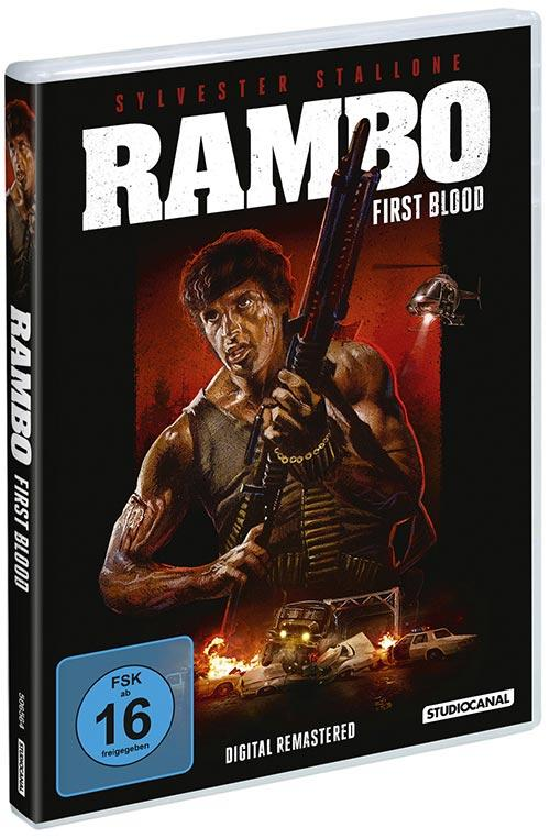 DVD Cover: Rambo - First Blood - Digital remastered