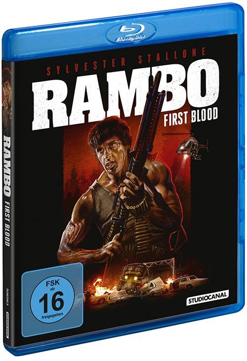 DVD Cover: Rambo - First Blood