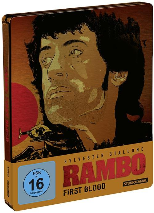 DVD Cover: Rambo - First Blood - Limited Steelbook Edition