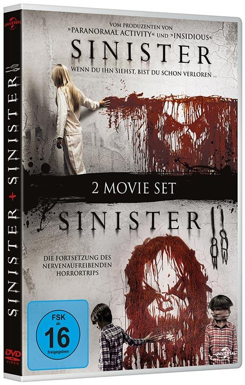 DVD Cover: 2 Movie Set: Sinister / Sinister 2