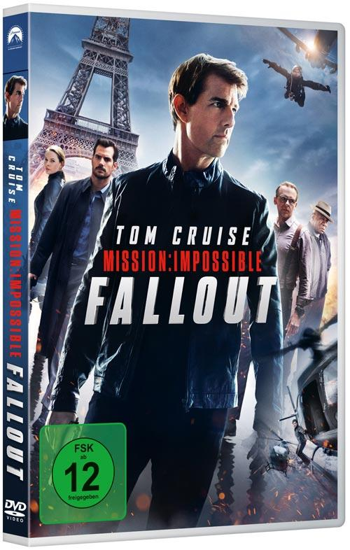 DVD Cover: Mission: Impossible 6 - Fallout