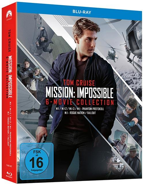 DVD Cover: Mission: Impossible - 6-Movie Collection
